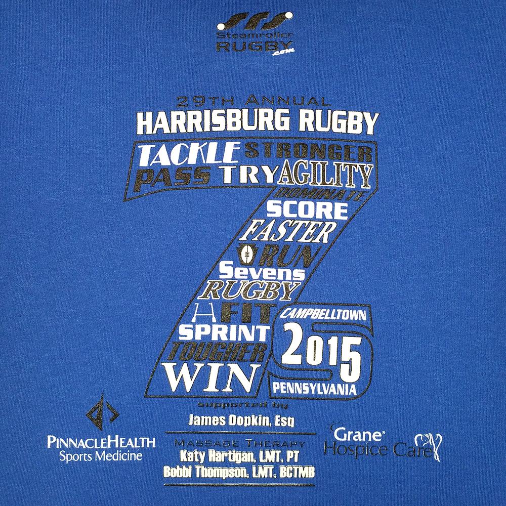 2015 HRFC 7s Blue - Back
