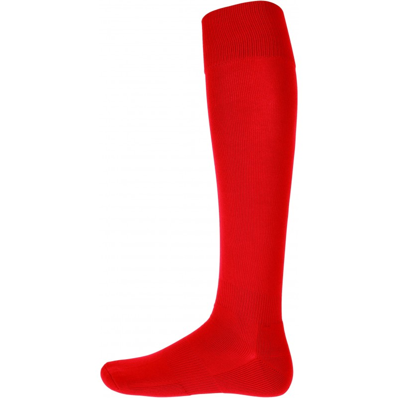 Red Rugby Sock
