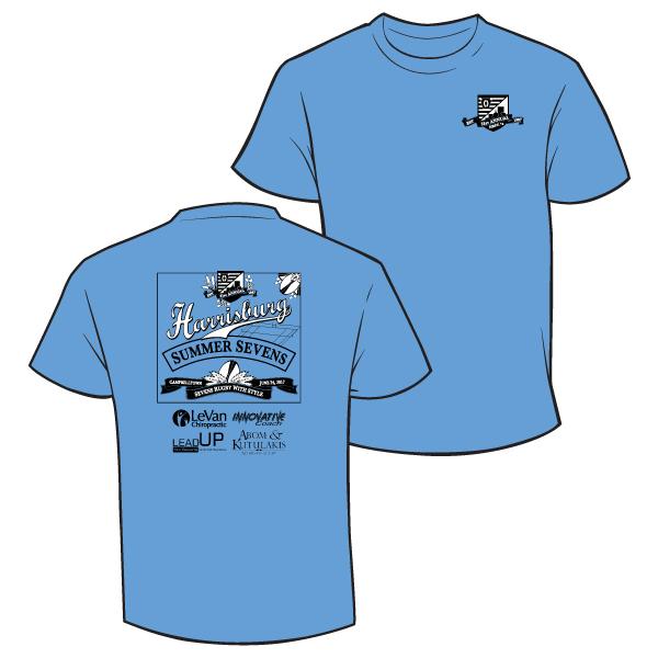 2017 7s t-shirt blue