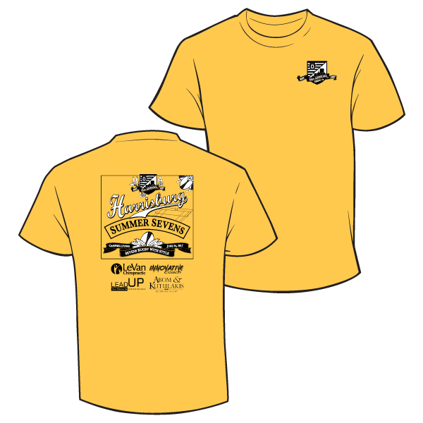 2017 7s t-shirt yellow