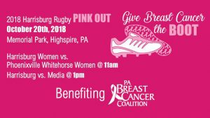Harrisburg Rugby PINK OUT @ Memorial Park | Highspire | Pennsylvania | United States